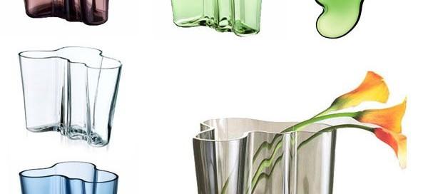 Finnish Alvar Aalto vases