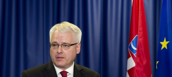 Croatian president Ivo Josipović