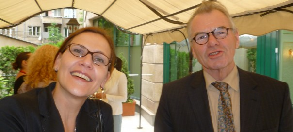 Croatian ambassador Danijela Barišić and Karel van Kesteren, ambassador of the Netherlands