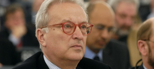 Hannes Swoboda, leader of the Progressive Alliance of Socialists and Democrats (S&D) in the European Parliament
