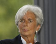The managing director of the International Monetary Fund IMF Christine Lagarde