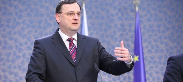 Petr Nečas prime minister of the Czech Republic