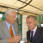 Oded Lev of the Platinum Business Center and former foreign minister Solomon Passi Passy