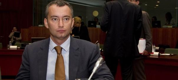 Nikolai Mladenov Foreign Minister of Bulgaria