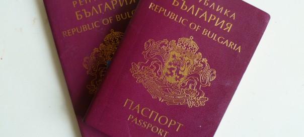 Two Bulgarian passports