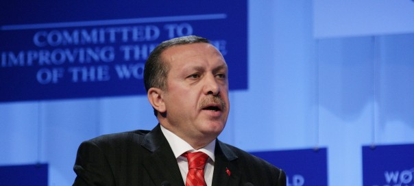 Turkish prime minister Recep Tayyip Erdogan. Photo: World Economic Forum