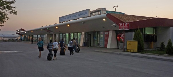 the international airport in pristina kosovo