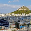 view of housing in athens greece