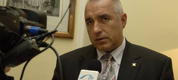 Bulgarian prime minister Boiko Borissov photo by european peoples party