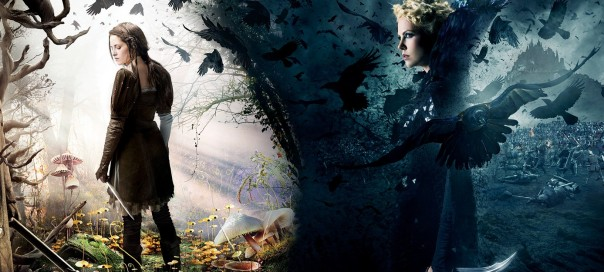 poster for film movie snow white and the huntsman