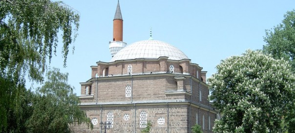 The Banya Bashi mosque in central Sofia, Bulgaria