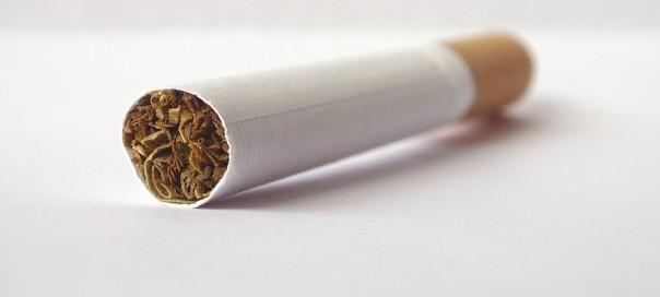 an unlit cigarette
