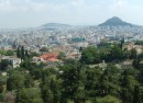 View overlooking Greek capital city Athens photo Clive Leviev-Sawyer