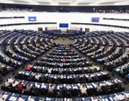 European Parliament hemicycle