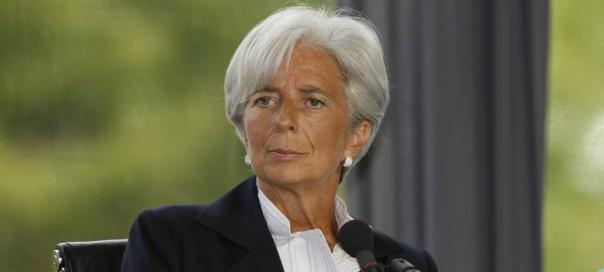 IMF head Christine Lagarde photo MEDEF