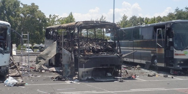 bombed buses bourgas