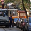"One of Sofia's infamous ""spiders"", the trucks used to tow away parked cars without proper permits. Photo: Boby Dimitrov/flickr.com"