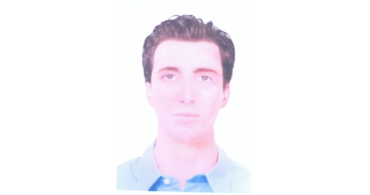 The photo image of the Bourgas terrorist suicide bomber distributed via Interpol in 2012. Photo: Bulgarian Interior Ministry
