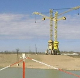 Belene nuclear plant site, screengrab from Bulgarian National Television