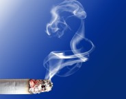 Cig on blue background Photo Gabriella Fabbri sxc hu