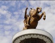 Monument in Skopje by aljabak