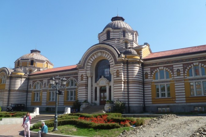 Old municipal baths, Sofia, home of the city's history museum. Photo: Clive Leviev-Sawyer