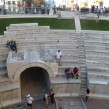 Ancient Roman Stadium, Plovdiv. Photo: Clive Leviev-Sawyer