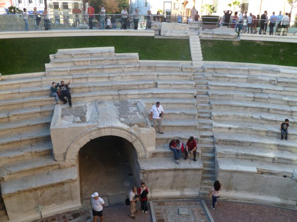 Ancient Roman Stadium, Plovdiv. Photo: Clive Leviev-Sawyer