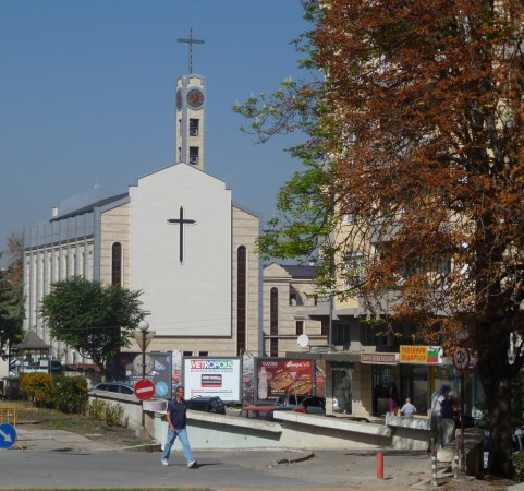 St Joseph's Roman Catholic cathedral, Sofia, close to the site of the western gate of ancient Serdica. Photo: Clive Leviev-Sawyer