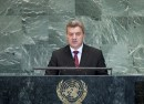 President of The former Yugoslav Republic of Macedonia Addresses General Assembly