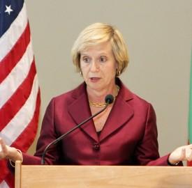 US ambassador Marcie Ries