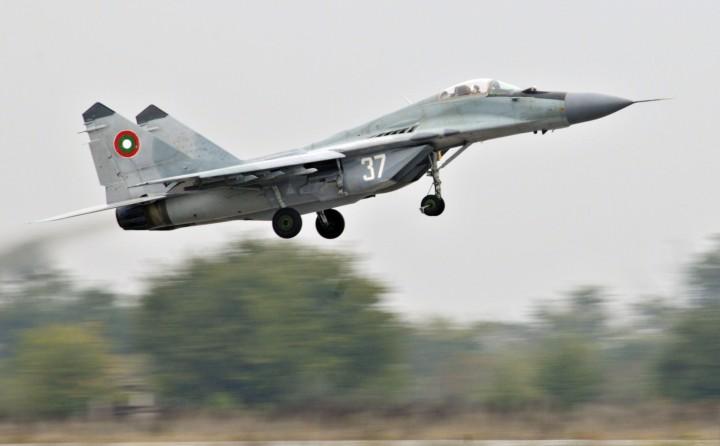 Bulgarian Air Force MiG-29. Photo: USAF