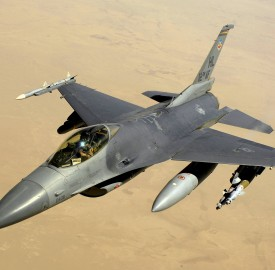 A United States Air Force F16. Photo: USAF