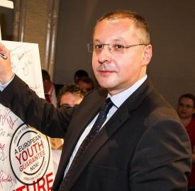 Sergei Stanishev by party of european socialists