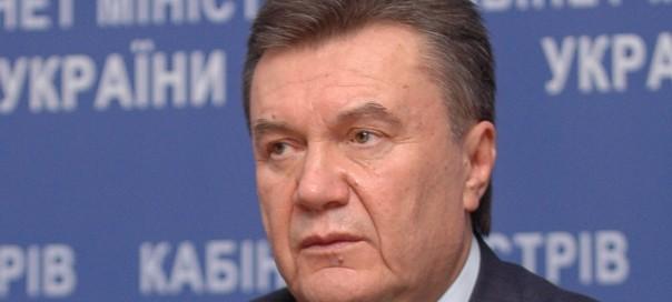 Ukrainian president Viktor Yanukovich. Photo: Igor Kruglenko