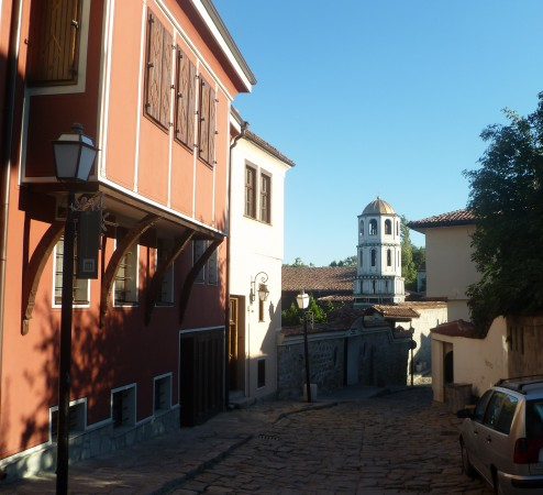 In the Old Town, Plovdiv. Photo: Clive Leviev-Sawyer