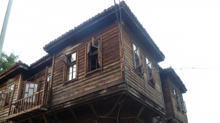 A house in Sozopol's Old Town at Bulgaria's Black Sea. Photo: Clive Leviev-Sawyer