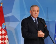 Visit to NATO by the Prime Minister of Croatia, Ivo Sanader- Joint Press Point
