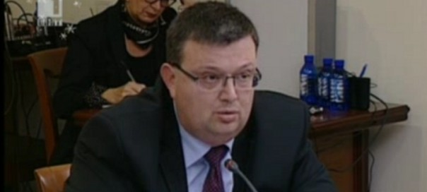 Bulgarian Prosecutor-General Sotir Tsatsarov.