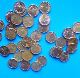 Stotinki one stotinka coins photo Clive Leviev-Sawyer
