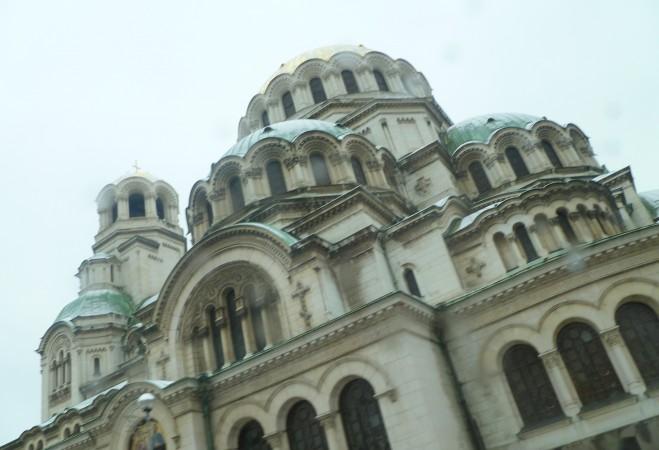 Alexander Nevsky cathedral Sofia Bulgaria January 13 photo Clive Leviev-Sawyer
