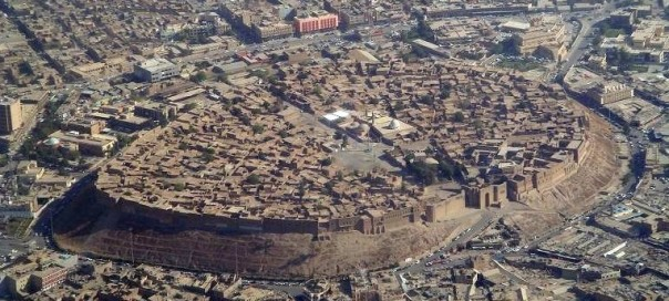 Citadel_(old_city)_of_Hewlêr_(Erbil) photo Jim Gordon