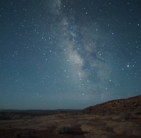 Milky Way as seen from the San Rafael Desert. Photo: Mike Lewinski