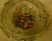 ashtray smoking photo Clive Leviev-Sawyer