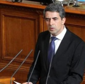 Plevneliev addresses Parliament on February 28 2013
