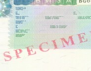 Specimen Bulgarian visa. Photo: Ministry of Foreign Affairs