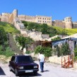 Car bombs keep the tourists away. On a lovely May morning, we had the 2,000-year-old Derbent Fortress, a UNESCO World Heritage site, all to ourselves. VOA Photo: James Brooke