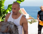 Still of Vin Diesel and Dwayne Johnson in Fast & Furious 6. Photo by Giles Keyte – © 2013 - Universal Pictures via imdb.com