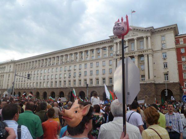 Peevski protest Sofia 3 photo Clive Leviev-Sawyer