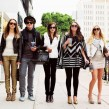 Still of Emma Watson, Israel Broussard, Taissa Farmiga, Katie Chang and Claire Julien in The Bling Ring. © 2013 - A24 Films